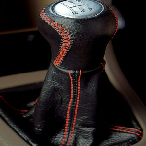 Smart looking gear knob